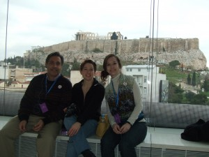 New Acropolis Museum with the Parthenon in the Background