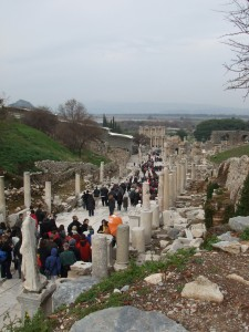 One of the Main Streets in Ephesus