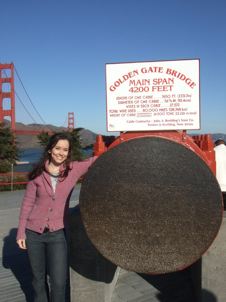 Golden Gate Bridge suspension cable