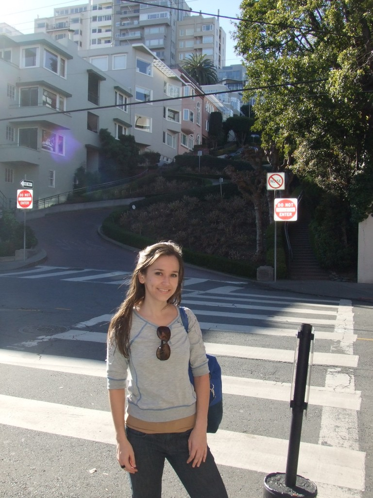 Lombard Street from the bottom take 2