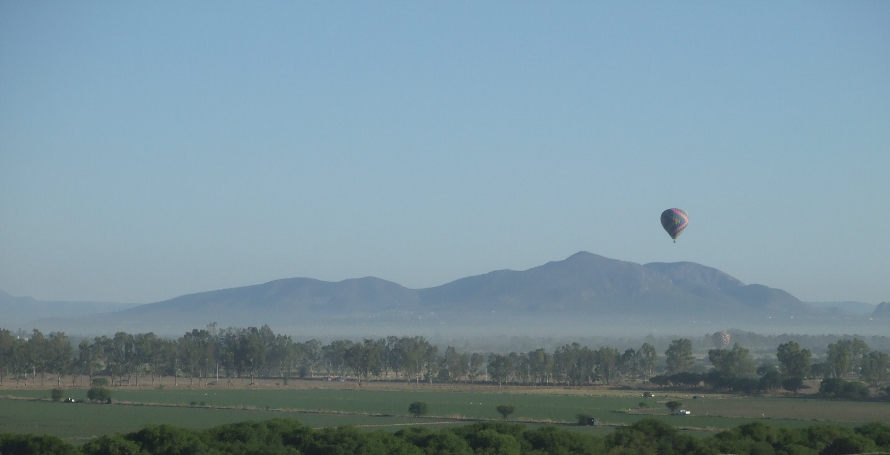 Hot Air Ballooning in Tequisquiapan