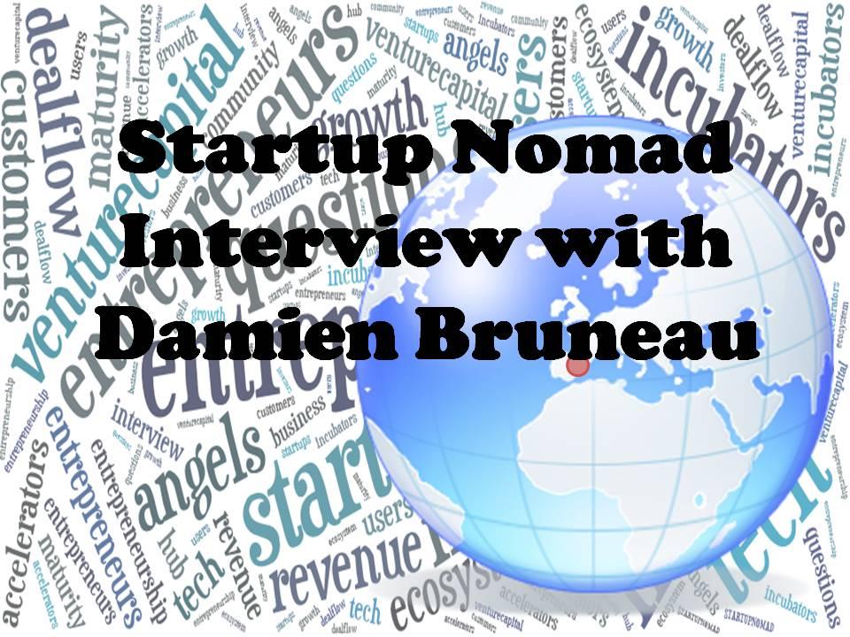 Startup Nomad - Damien Bruneau
